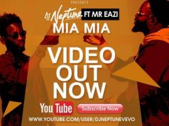 "VIDEO: DJ Neptune – ""Mia Mia"" ft. Mr Eazi"