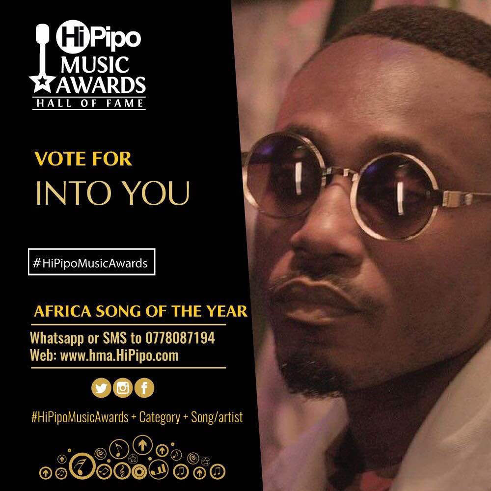 Roborto Is Among The Nominees In The #HiPipoMusicAwards   Vote Now