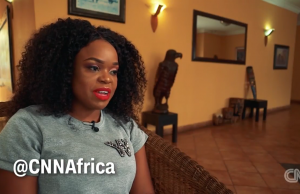WATCH: Mampi Appears On CNN #VoiceOfAfrica