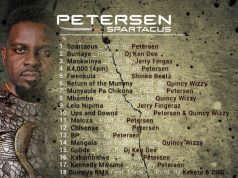 """Album Out Now For #Spartacus By Petersen Zagaze 