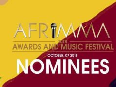 Full List Of AFRIMMA Awards 2018 Nominees - Mampi, Cleo Ice Queen & Roberto Inclusive