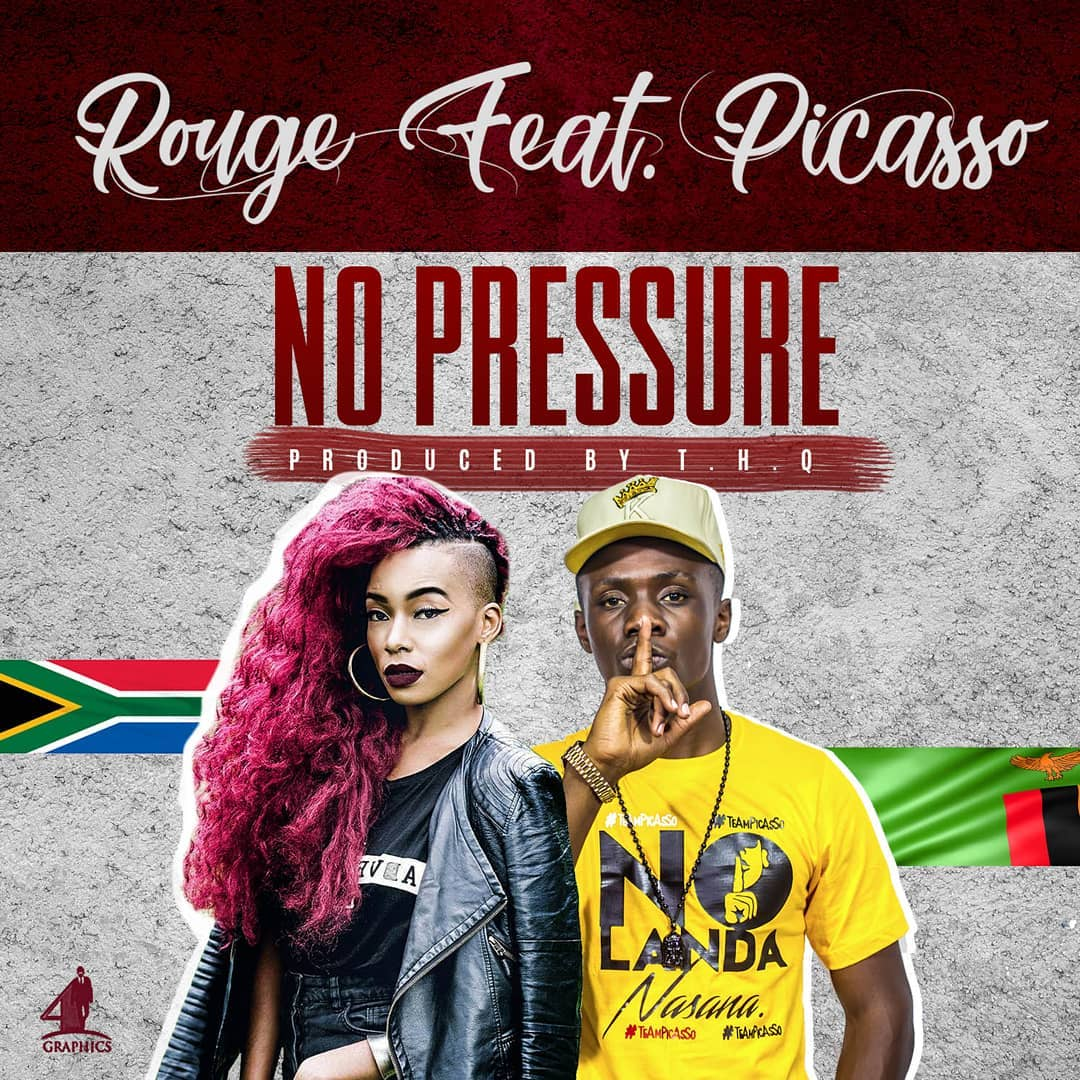"""Rouge ft. Picasso - """"No Pressure"""" (Prod. By T.H.Q)"""