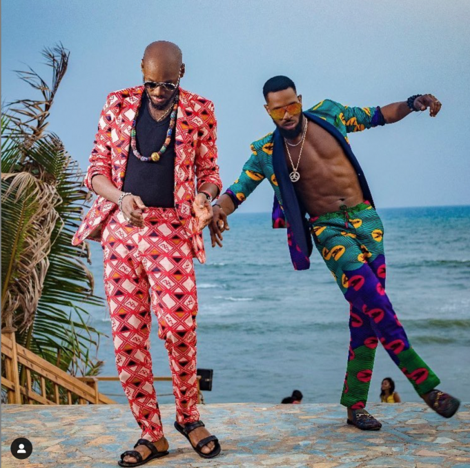 D'Banj, 2Baba , Baecation,