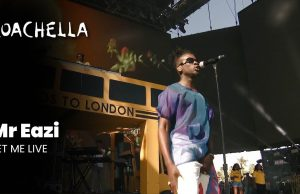 Mr. Eazi Performs At Coachela Represents Zambia & Africa