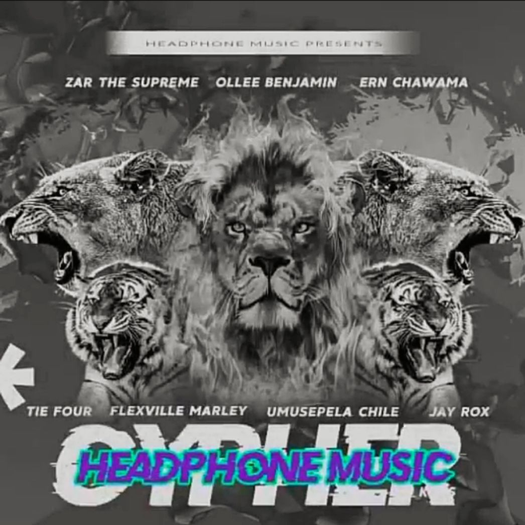 """DOWNLOAD Jay Rox, Ollee Benjamin, Ern Chawama, Tie Four, Flexville Marley, Umusepela Chile - """"Headphone Music Cypher"""" Mp3"""