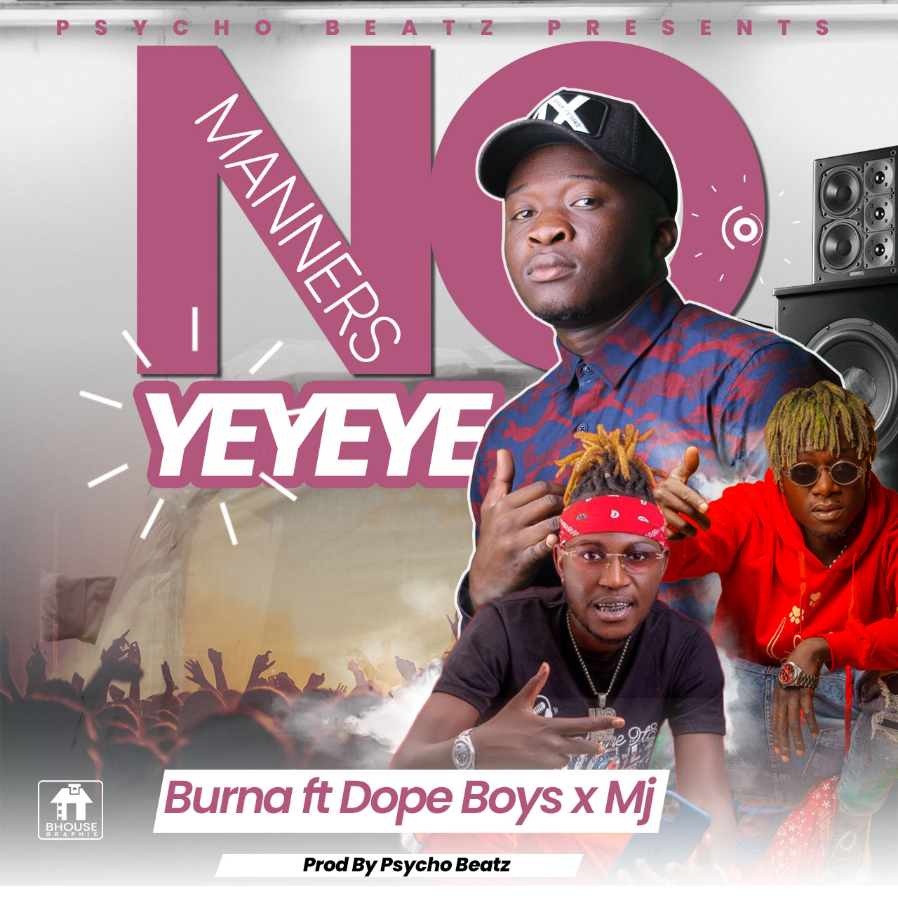 """DOWNLOAD Burna ft. Dope Boys x Mj – """"No Manners"""" Mp3"""
