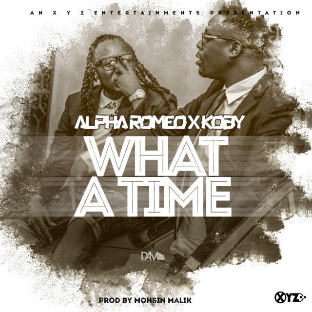 """Alpha Romeo x KOBY – """"What A Time"""" Mp3"""