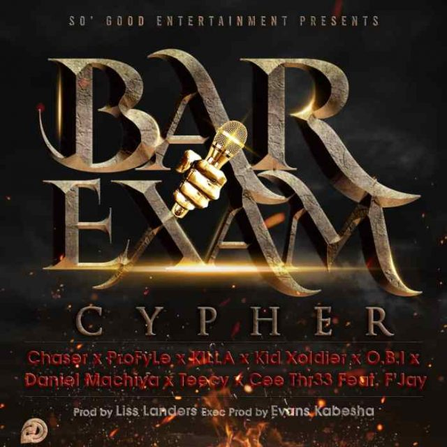 "Download: So Good Ent Ft. V/A- ""The Bar Exam Cypher"" (Prod. By Liss Landers)"