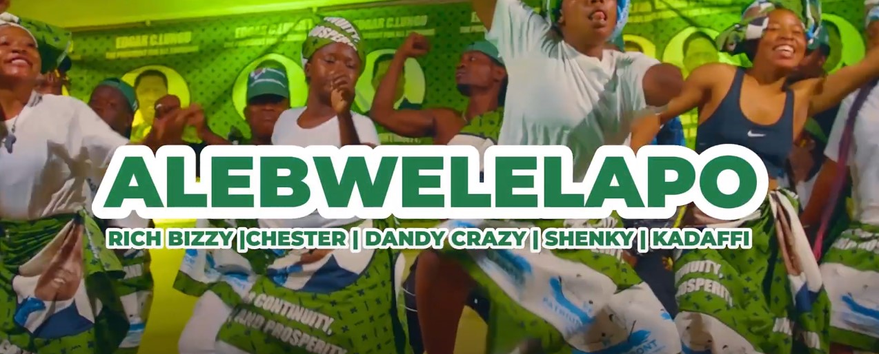 """King Dandy Crazy, Chester, Rich Bizzy, Kadaffi, Shenky – """"Alebwelelapo (Pf Campaign Song)"""