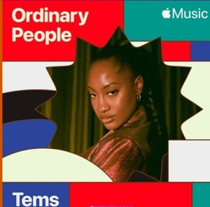 """Tems - """"Ordinary People (Cover)"""" Mp3"""