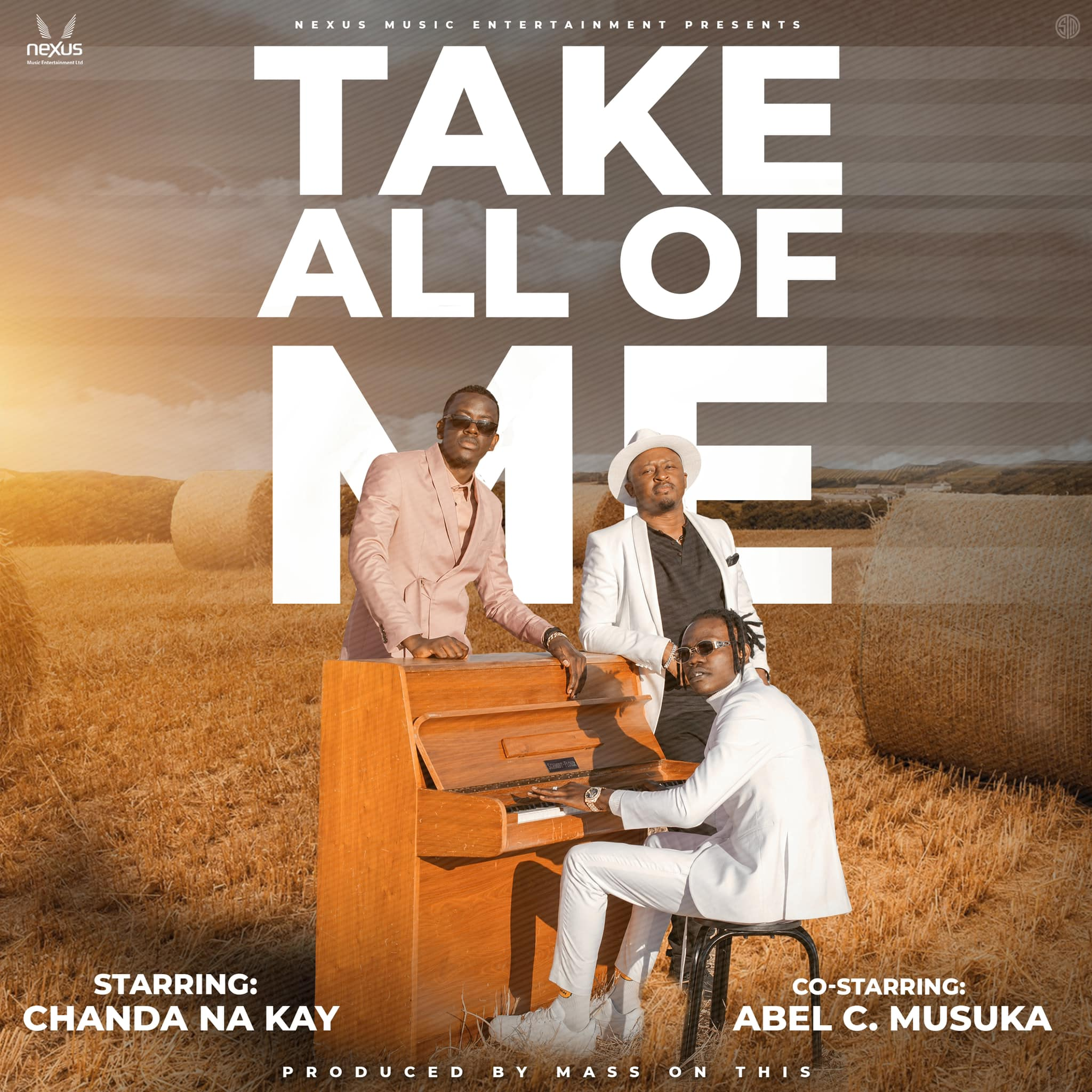 """Chanda Na Kay Unveils Cover For New Single """"Take All Of Me"""" Featuring Abel Chungu & Working On First Album"""